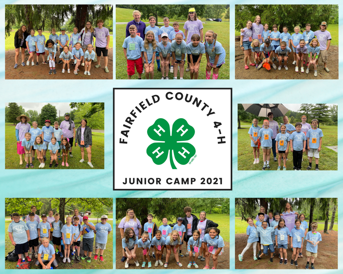 Fairfield County Junior Camp photo of including picture of each group
